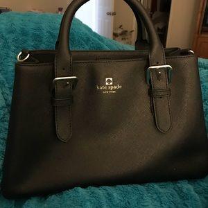 kate spade Saffiano Leather Lined Shoulder Bag